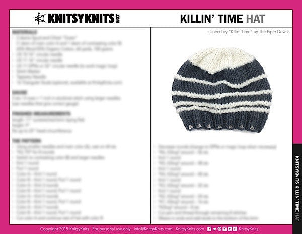 KK Pattern: Killin