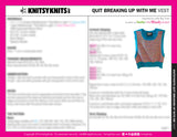KK Pattern: Quit Breaking Up With Me Vest