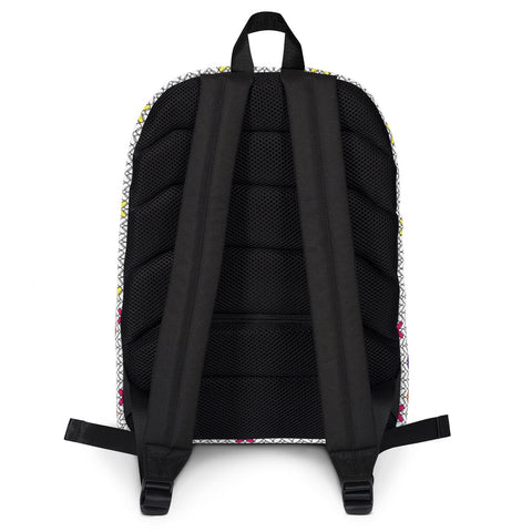 Knitted Fabric Backpack