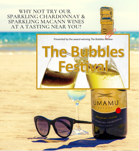 Sparklings at Bubbles Festival Brisbane 14-15th May, Perth 7-8th May Postponed to 25-26th June.