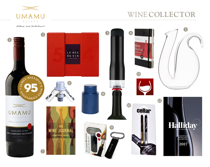 UMAMU Estate Wine Collectors Christmas Gift Guide