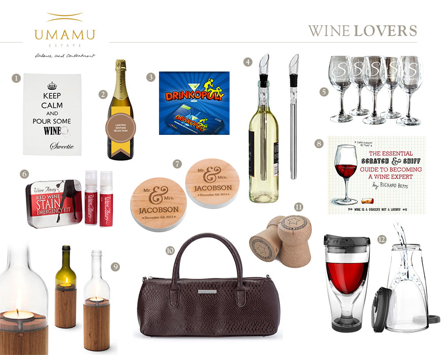 UMAMU Estate Wine Lovers Christmas Gift Guide