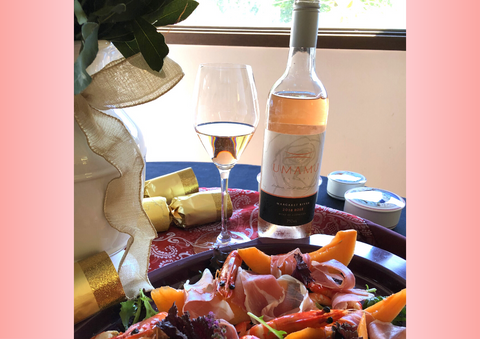 wine pairing with rose from australia