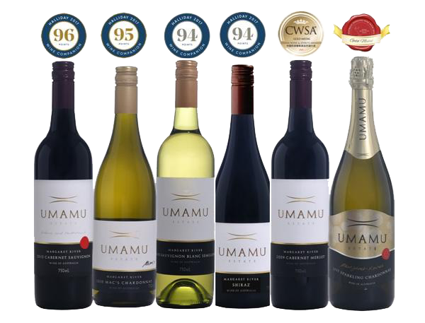 A Taste of UMAMU – six of our wines for you to taste through our range