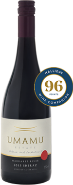 2015 UMAMU Estate Shiraz *NEW RELEASE* ($54 per bottle)