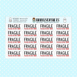 20 Fragile Please Do Not Bend Stickers Packaging Business Mailing Shipping Stickers
