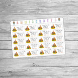 Zoo Birthday Thank You For Coming To My Birthday Party Goodie Bag Birthday Party Favor Stickers