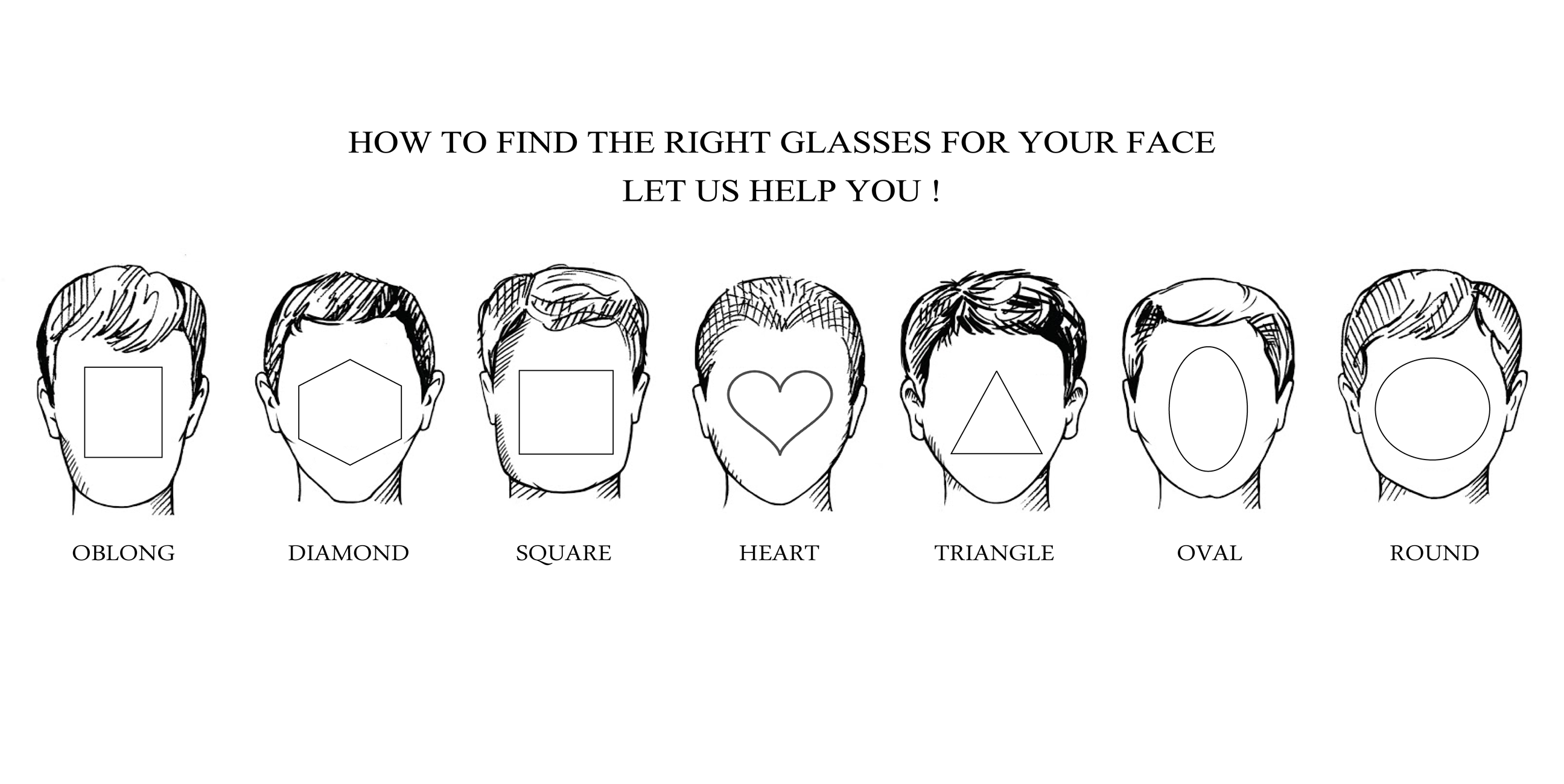 find your glasses fit your face so easy just a few steps