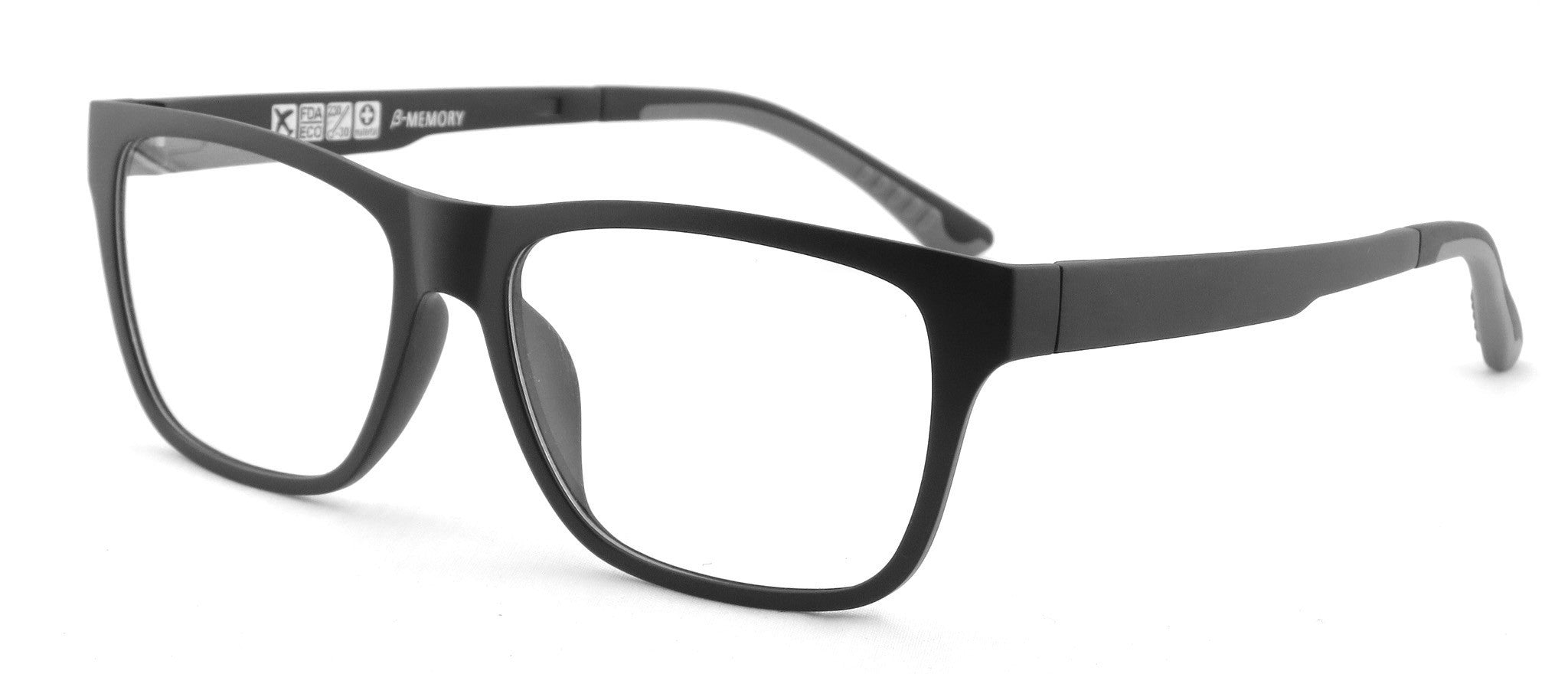 Glasses Frame Ultem : ARRON ULTEM Black Glasses Online Eyeglasses RX