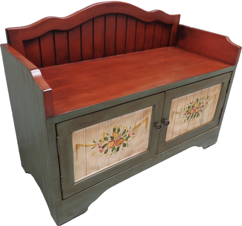 Shoe Cabinet With Seat