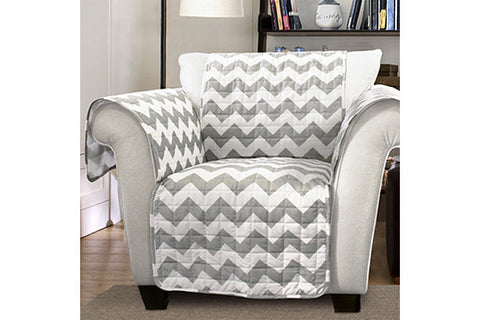 Chevron Chair Protector Lush Decor