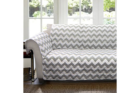 Chevron Loveseat Protector Lush Decor
