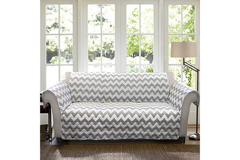 Chevron Sofa Protector Lush Decor