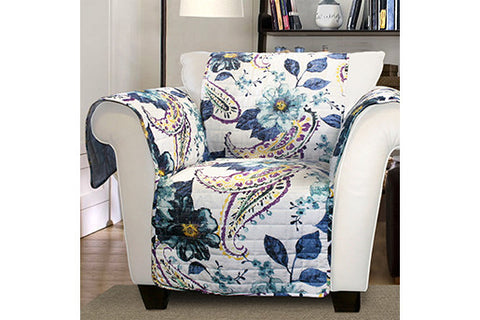 Floral Chair Protector Lush Decor