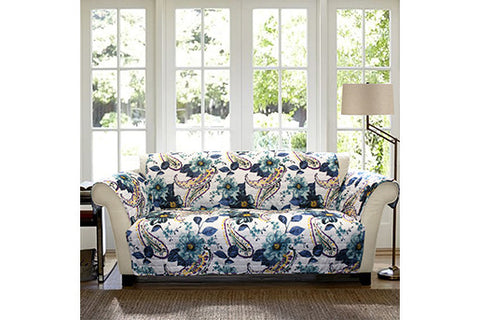 Floral Sofa Protector Lush Decor