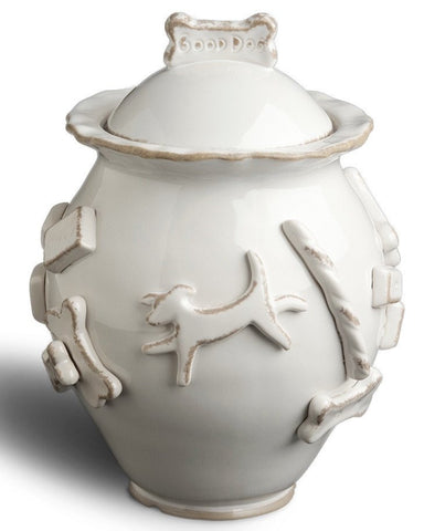 Carmel Ceramica Dog Treat Jar