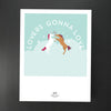 Lovers Gonna Love - Dancing Unicorns<br /><em>giclée print</em>