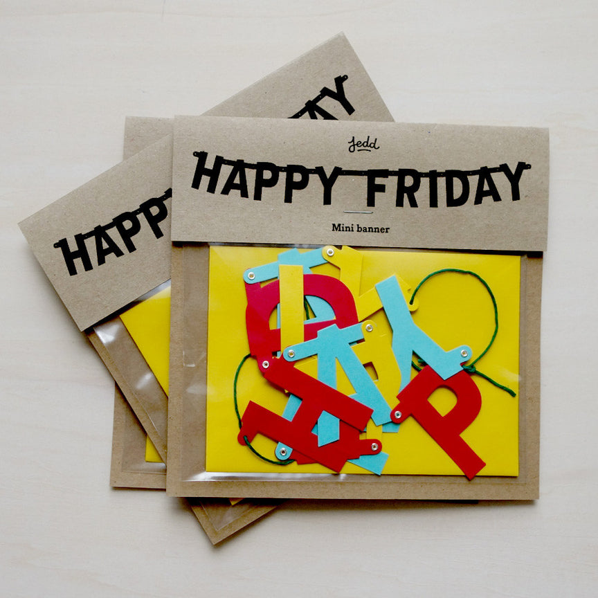 Happy Friday <br /><em>mini banner</em>