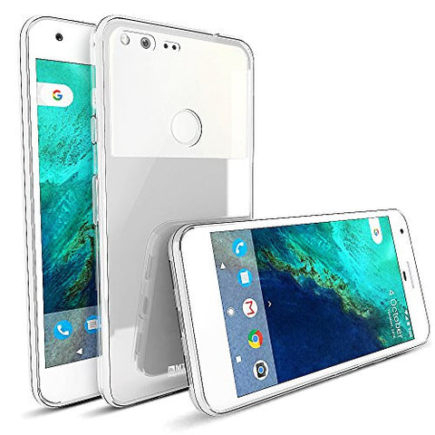 MTT Google Pixel XL Case - Premium Shock Absorption Crystal Clear Hard Back Case Cover
