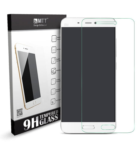 MTT Premium Quality Tempered Glass Screen Guard Protector for Xiaomi Mi 5