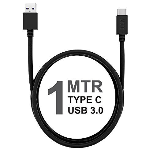 MTT 1 Meter Type C 3.0 Cable ( USB-C to USB 3.0 ) for OnePlus 2/3 , Nexus 5x/6P , other Type C capable Smartphones (1M, 1-PACK)