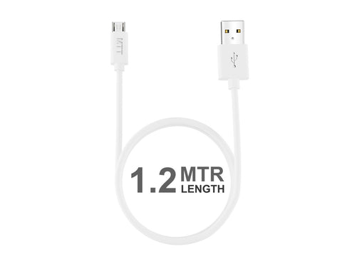 TPE Micro USB Cable - Fast Charging , Incredibly Durable and Premium Quality-White