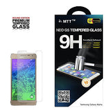 MTT® NEO G5 SAMSUNG GALAXY ALPHA Premium Tempered Glass Screen Protector Guard - Protect Your Screen from Scratches and Drops - Maximize Your Resale Value - 99% Clarity and Touchscreen Accuracy (Special Launch Offer)