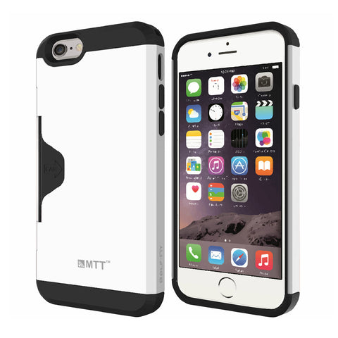 MTT Golf Fit Shock Absorption Case for iPhone 6S Plus / 6 Plus - White