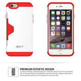 MTT Golf Fit Shock Absorption Case for iPhone 6S / 6 - Red