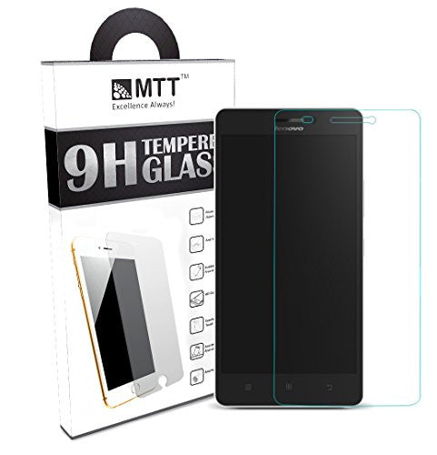 MTT® NEO Premium Tempered Glass Screen Protector for Lenovo A7000 & K3 NOTE [ 2.5D Round Edge ] [ Easy Install ] [Anti Scratch ] [ HD ] - Protect your screen from Scratches & Drops - Maximize your resale value - 100% clarity and touch Screen Accuracy