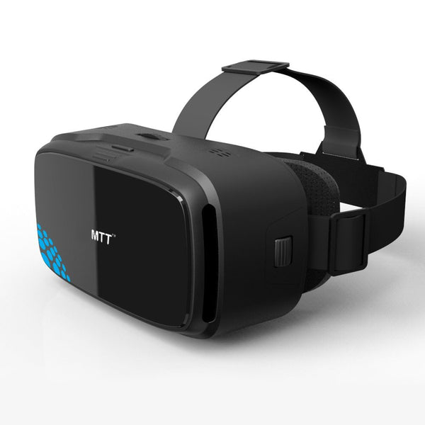 MTT® 3D VR Headset Glass - Advanced Virtual Reality Glasses for iPhone 6s /6 , Samsung S7 / S7 Edge, Compatible with most slim Android / iOS Smartphones