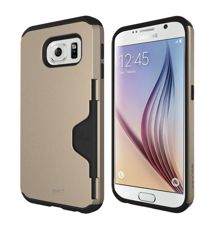 MTT® Shock Proof Case for Samsung Galaxy S6 (GOLD)