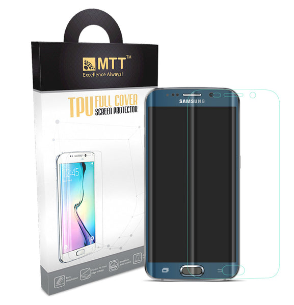 MTT Full Body Screen Protector Film [Not Tempered Glass] for S6 Edge