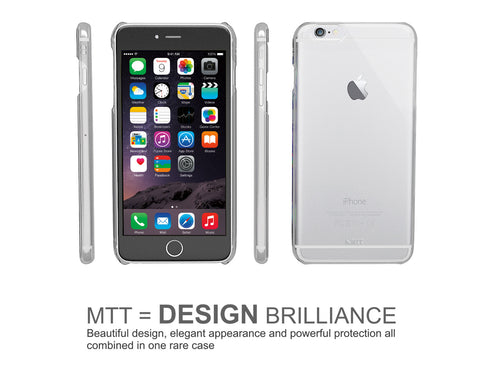 MTT Slim Fit Case for iPhone 6S / 6 - Transparent