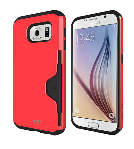 MTT® Shock Proof Case for Samsung Galaxy S6 (RED)