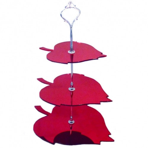 Three Tier Leaf Cake Stand