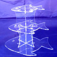 Fish Shaped Design Multi Tier Cake Stand
