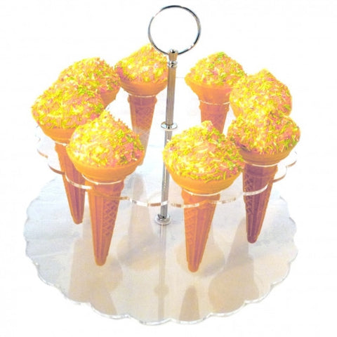 8 Ice Cream Cone / Popcorn, Sweets & Savorys Stand