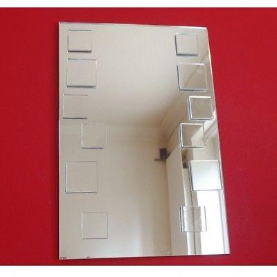 Squares on Rectangle Mirror