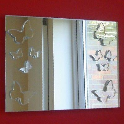 Butterflies Rectangle Mirror