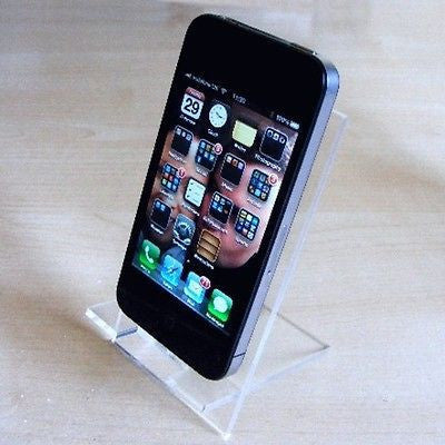 Clear Desktop Smart Phone/Mini Tablet Stand
