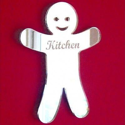 Gingerbread Man Kitchen Door Sign