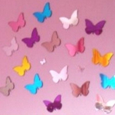 Decorative Coloured Butterfles