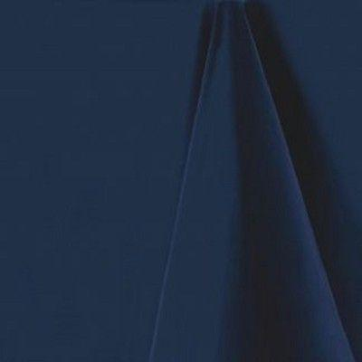 Navy Blue Rectangular Tablecloth