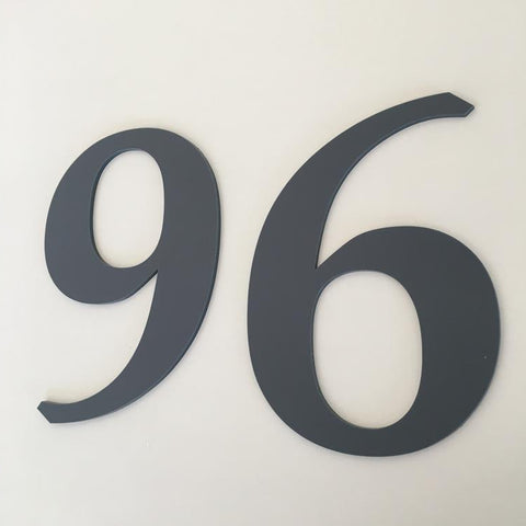 House Numbers & Letters Flat Finish - Book