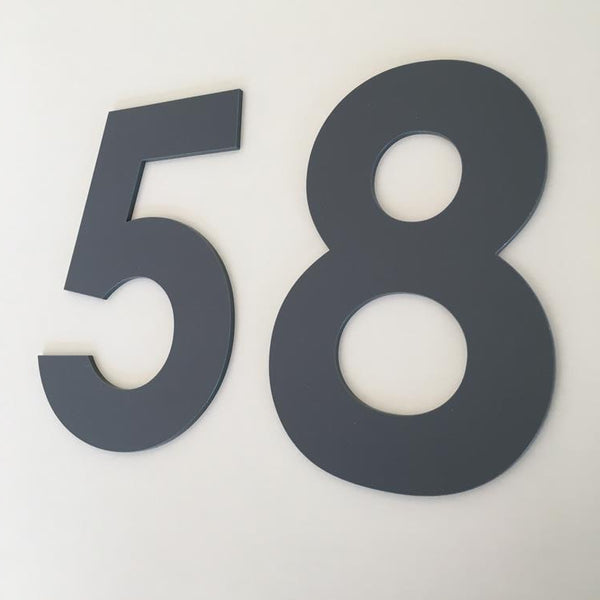 House Numbers & Letters Flat Finish - Century Gothic