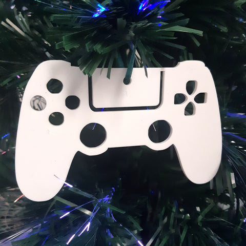 Game Controller Christmas Tree Decorations Matt Pastel Colours
