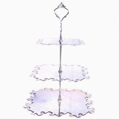 Three Tier Jigsaw Cake Stand