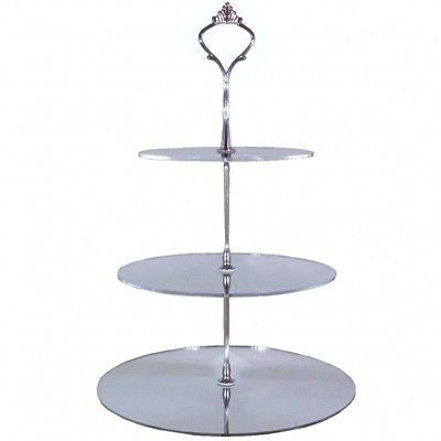 Three Tier Round Cake Stand