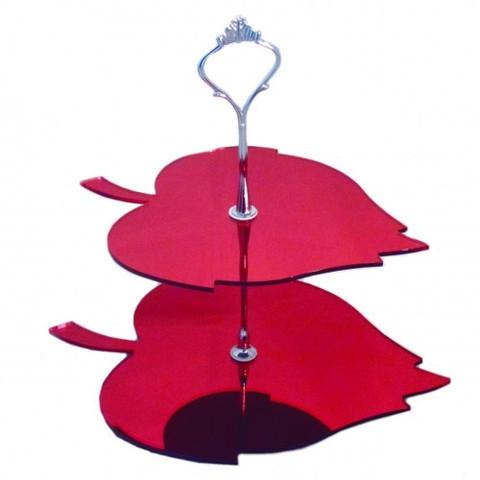 Two Tier Leaf Cake Stand